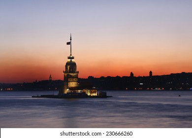 Stayed in one of the symbols of Istanbul, which is a historic building from the Byzantine period maidens tower