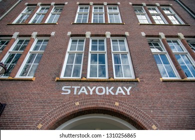 Stayokay Hostel At The Timorplein Square At Amsterdam The Netherlands 2019