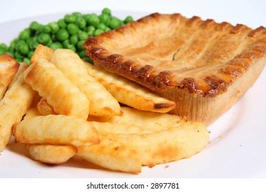 Steak Pie & Fries