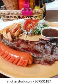 Steak porkchop