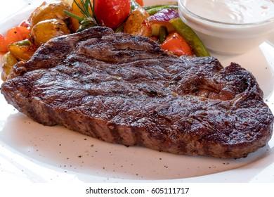 Steak rib-eye