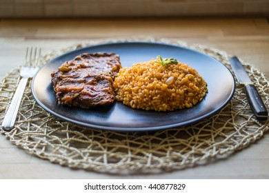 Picanha with Sauce Stock Photos, Images & Photography