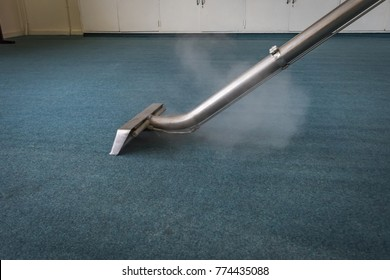 Steam Carpet Cleaning  with steam and wand
