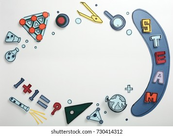 STEAM Educational tools, paper cutting