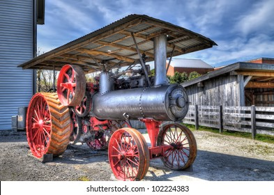 Steam Engine for agriculture