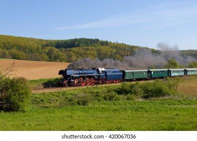 Steam engine-Albatros, Czech republic