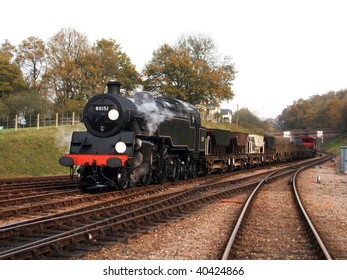 Steam Freight Train