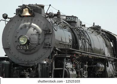 Steam Locomotive, Baldwin Locomotive Works, Phil, PA, Mopdel 3751