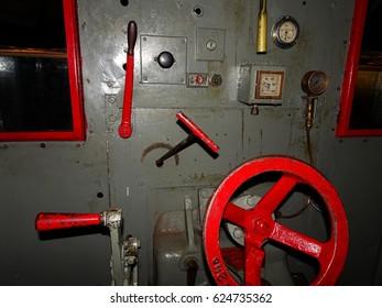 Steam Locomotive Interior