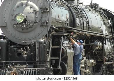 Steam Locomotive, Model 3751, by Baldwin Locomotive Works, Phil., PA, 1927-1941