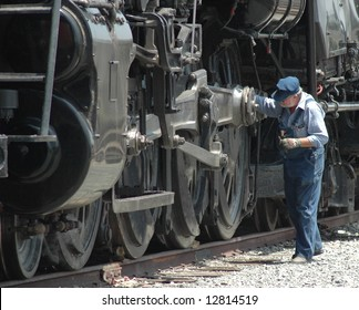 Steam Locomotive in Operating Condition