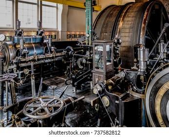 Steam machine with equipment