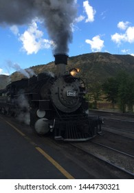 Steam powered narrow gauge trail from Durango to Silverton, Colorado.  This trail is the only access to the Chicago Basin 14ers of Eolus, Windom and Sunlight peaks.