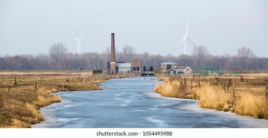 Steam pumping station Arkemheen (Nijkerk, the Netherlands)