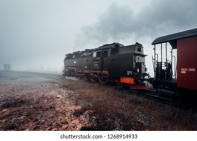 Steam railway on the way to the Brocken