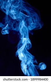 Steam rises and swirls quite a bit.