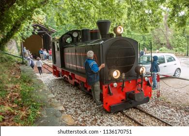 steam train Volo Greece