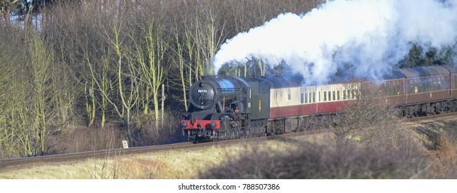Steam trains England