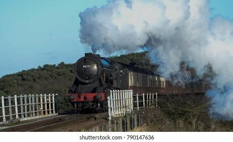 Steam Trains Norfolk England
