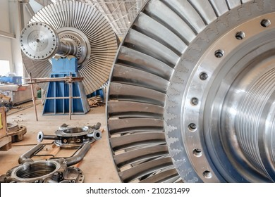 steam turbine of power plant
