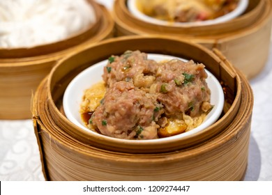 Steamed Beef Balls with Bean Curd Sheet