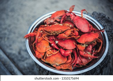 Steamed Crab dish