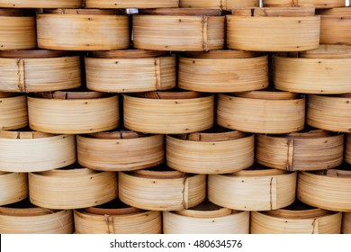 Steamed dim sum and steamed secondary container.
