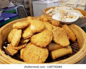 Steamed Pork Roll (Cha Lua ) fried