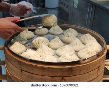 A steamed stuffed buns,Steamed buns for sale