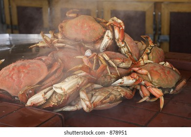 steaming crabs