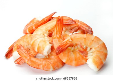 steaming shrimp