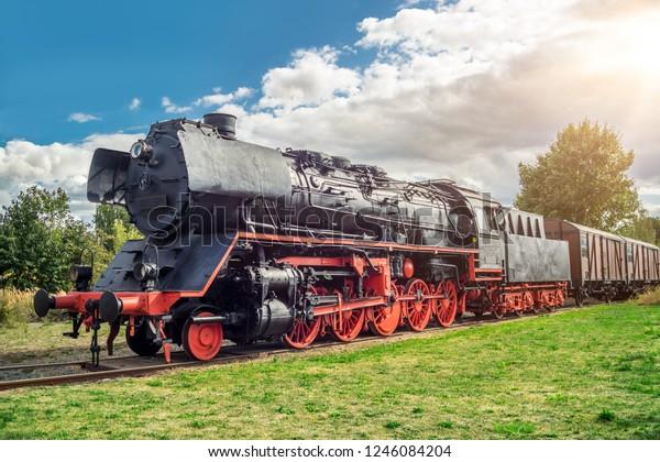 Steamlock on a siding
