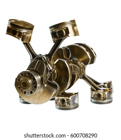 steampunk crankshaft and pistons unknown animal or insect