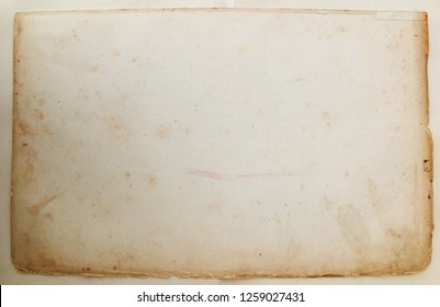 Steampunk frame background,  vintage canvas paper torn wallpaper