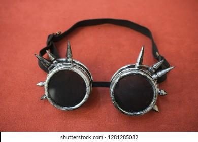 Steampunk Vintage Cogs Monocle Goggle Fancy Dress Accessory