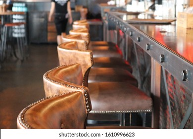 Steampunk Style Restaurant Seating Fitout