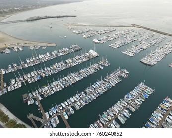 Stearn's Wharf, Santa Barbara, California marina