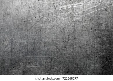 Steel background, scratched metal texture