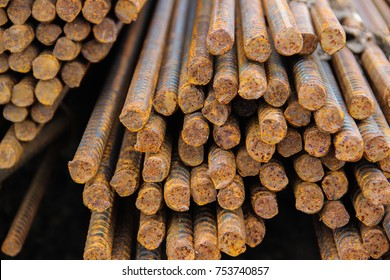 steel bar in the construction industry