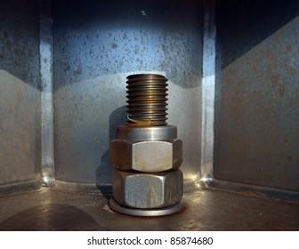 Steel bolt