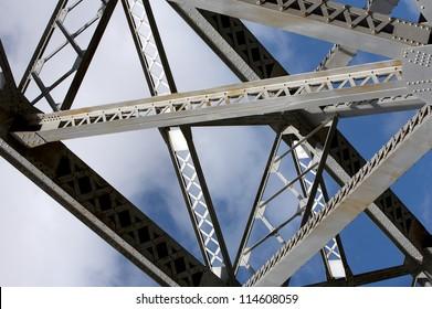 Steel Bridge, close up view