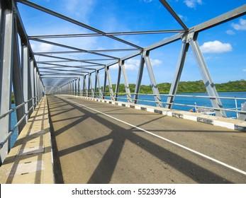 Steel Bridge Structure Sri Lanka