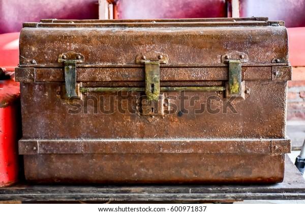 Steel chests retro