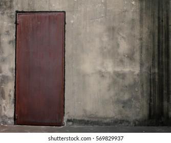 Steel doors rust scary