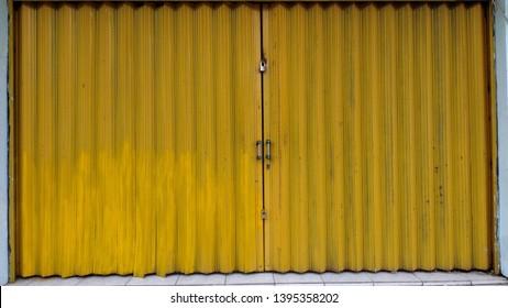 Steel Folding Gate Sliding Doors