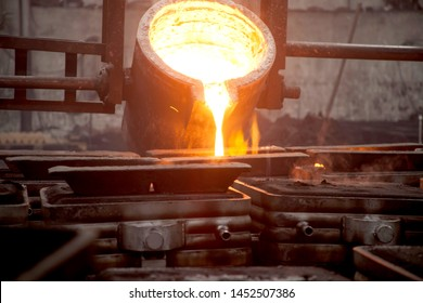 Steel foundry (iron foundry, smeltery)