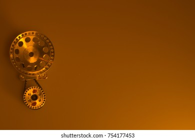 Steel gear mechanism isolated background
