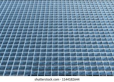 steel grilles, foot plates