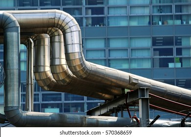 steel heat pipes in the city