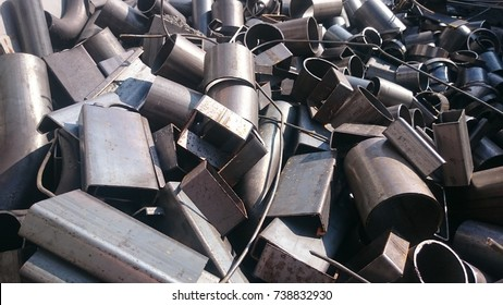 Steel and iron residues